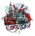 London 8 embroidery design