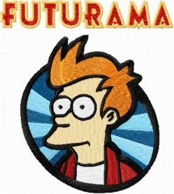 futurama embroidery