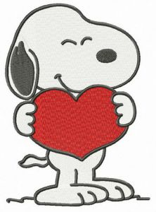 Snoopy I love you