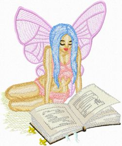 Fairy Reading Book