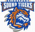 Bridgeport Sound Tigers logo embroidery design