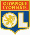 Olympique Lyonnais football club logo embroidery design