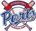 Stockton Ports logo embroidery design