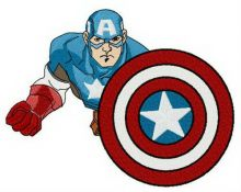 Courage of  Captain America