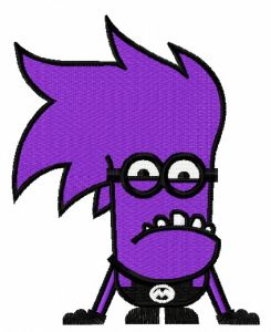 Purple Minion 7