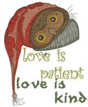 Love is patient, love is kind 3