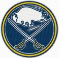 Buffalo Sabres round logo embroidery design