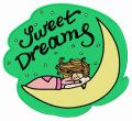 Sweet dreams 2 embroidery design