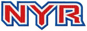 New York Rangers wordmark logo