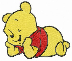 Cute baby Pooh