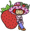 Strawberry Shortcake 3 embroidery design
