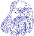 Eagle 10 embroidery design