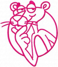 Pink Panther one colored