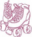 Rollers free embroidery design