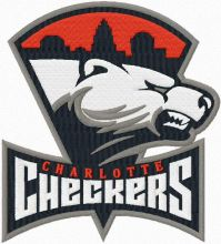 Charlotte Checkers Primary Logo