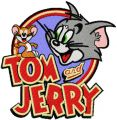 Tom and Jerry Badge embroidery design