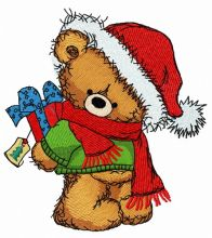 Christmas teddy bear 8