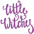 Little witches free embroidery design