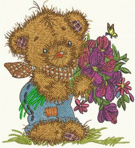 Teddy's bouquet 6