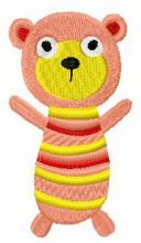 Sock doll bear