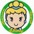 Disney Cuties Princess Aurora embroidery design