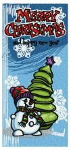 Christmas bookmark 6