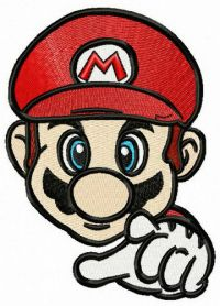 Brother of Luigi machine embroidery design