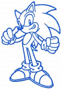 Sonic one color