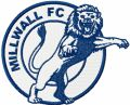 Millwall Football Club logo embroidery design