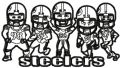 Pittsburgh Steelers Team embroidery design