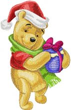 Winnie Pooh with Christmas Honey