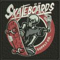 Skateboards Supply Co. embroidery design