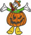 Halloween Donald embroidery design