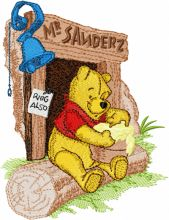 Winnie Pooh and honey