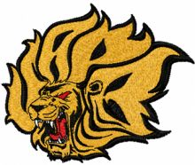 Arkansas-Pine Bluff Golden Lions Logo