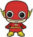 Chibi Flash embroidery design