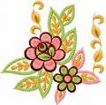 Flower 47 free machine embroidery design