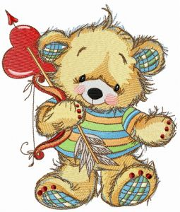 Teddy bear cupid