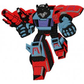 Transformers - Pointblank 1 machine embroidery design