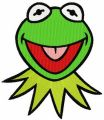 Kermit the Frog embroidery design