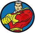 Super Hero embroidery design