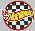 Hot Wheels Racing Logo embroidery design