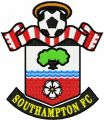 Southampton Football Club Logo embroidery design