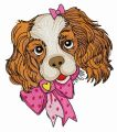 Spaniel puppy 2 embroidery design