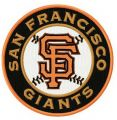 San Francisco Giants Logo 4 embroidery design