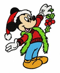 Christmas Mickey Mouse 4