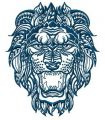 Lion 4 embroidery design