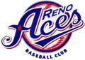 Reno Aces Baseball Club logo embroidery design