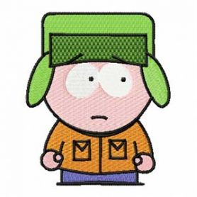 South Park embroidery design