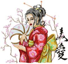 Geisha with Hairpin 2